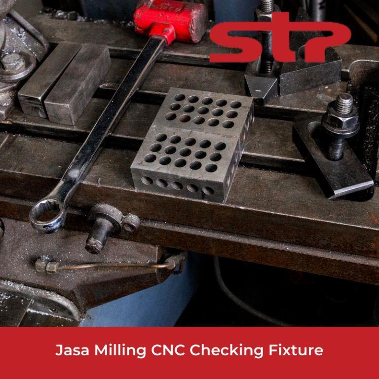 Jasa Milling CNC Checking Fixture Terbaik